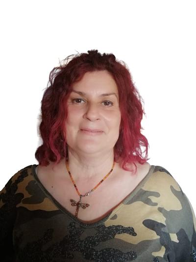 Mari Carmen Moya Regidora de Mollet en Comu i  Treballadora del sector de la neteja